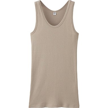 WOMEN Ribbed Tank Top