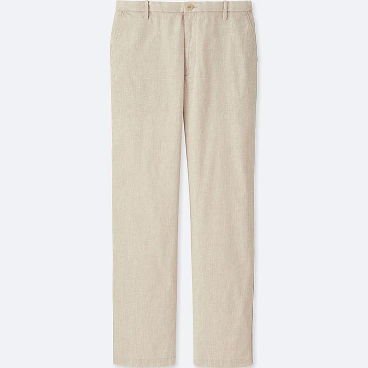 MEN Linen Relaxed Trousers