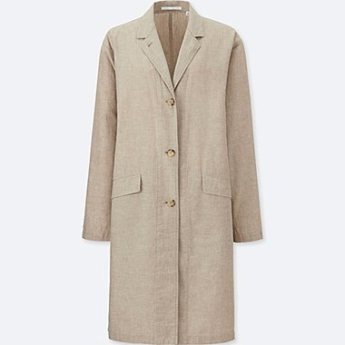WOMEN Linen Cotton Coat