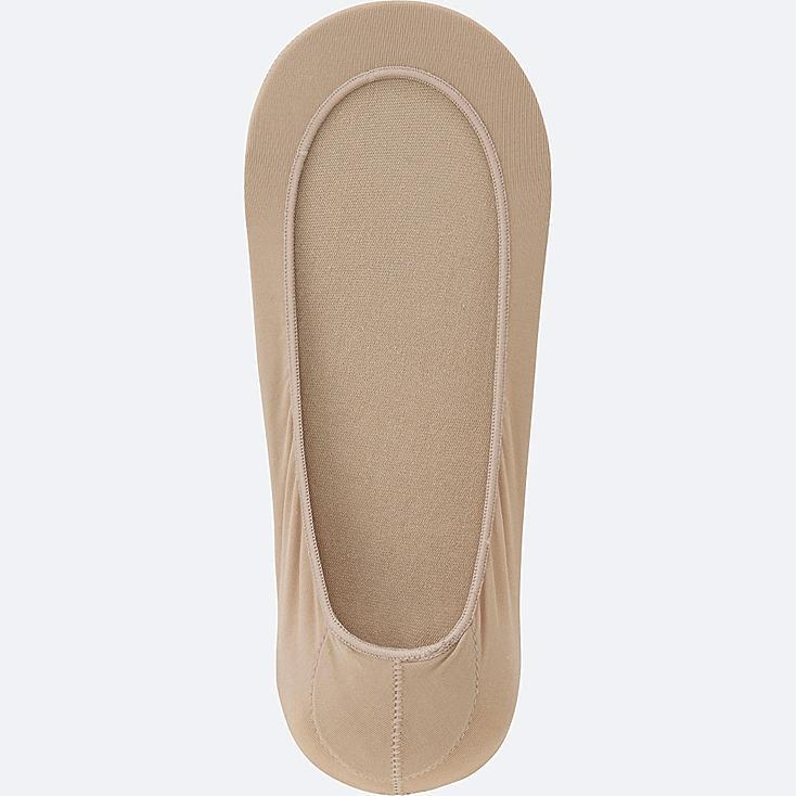 WOMEN FOOTSIES (SHEER), BEIGE, large
