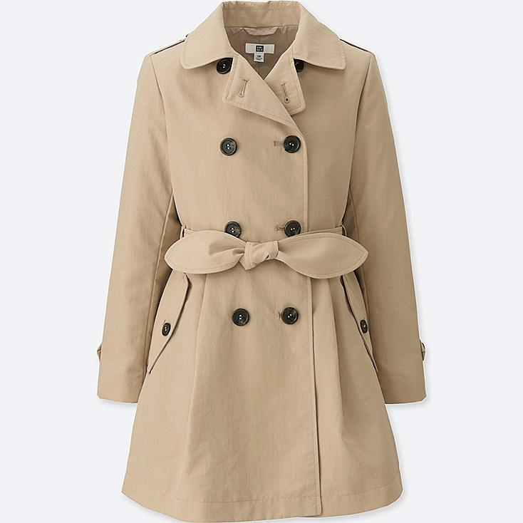 GIRLS TRENCH COAT | UNIQLO US