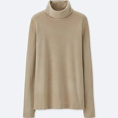 HEATTECH Camiseta Forro Polar cuello vuelto MUJER