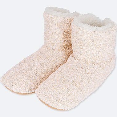 WOMEN FLUFFY FLEECE ROOM SHOES