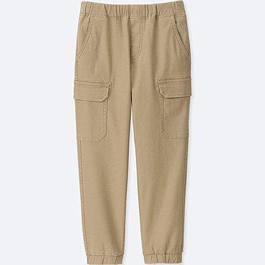 BOYS CARGO JOGGER PANTS, BEIGE, medium