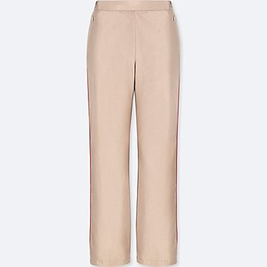 WOMEN WARM LINED STRAIGHT TROUSERS