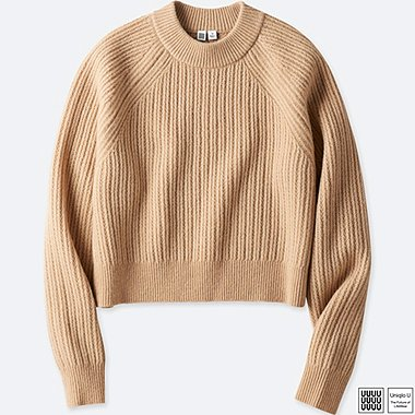 DAMEN UNIQLO U STRICKPULLOVER