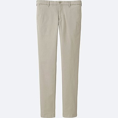 MEN ULTRA STRETCH SKINNY CHINO PANTS, BEIGE, medium