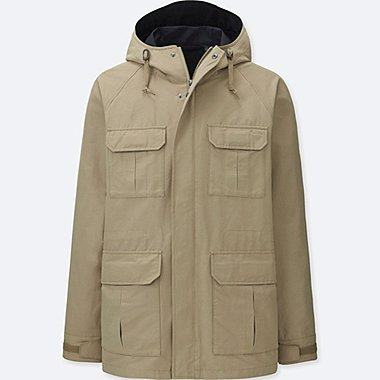 MEN MOUNTAIN PARKA, BEIGE, medium
