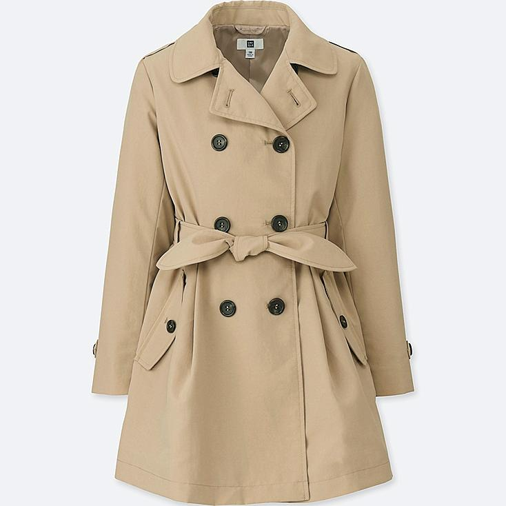 GIRLS TRENCH COAT at UNIQLO in Brooklyn, NY | Tuggl