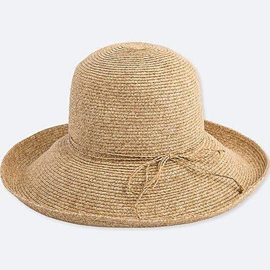WOMEN Paper Floppy Hat