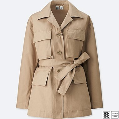 Damen U Safari Jacke