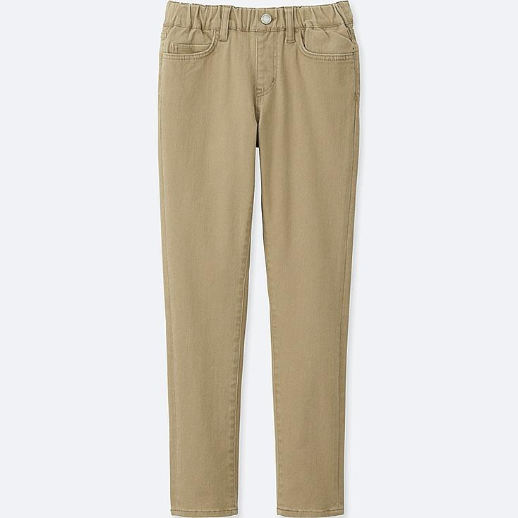 BOYS ULTRA STRETCH EASY PANTS, BEIGE, large