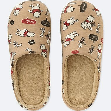 DISNEY HOLIDAY COLLECTION SLIPPERS, BEIGE, medium