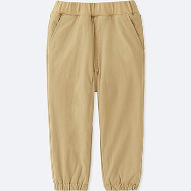 TODDLER STRETCH WARM-LINED PANTS, BEIGE, medium