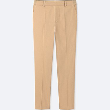 WOMEN EZY SATIN ANKLE LENGTH TROUSERS