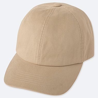 COTTON TWILL CAP, BEIGE, medium