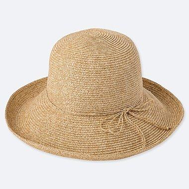 WOMEN ADJUSTABLE CAPELINE HAT