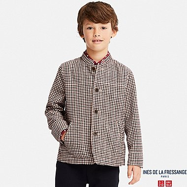 KIDS INES PRINTED CORDUROY COVERALL