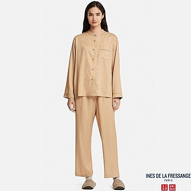 WOMEN INES RAYON LONG SLEEVE PYJAMAS