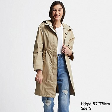 WOMEN BLOCKTECH MODS COAT, BEIGE, medium