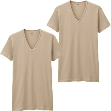 HERREN T-Shirt aus Supima Cotton 2 Pack