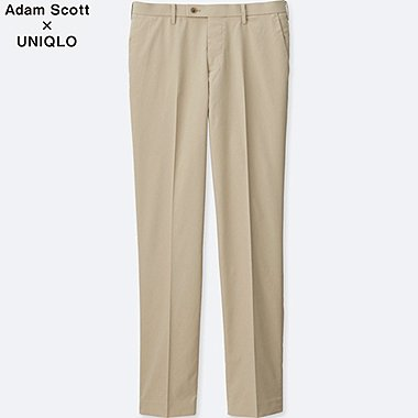 Mens DRY Stretch Pants, BEIGE, medium