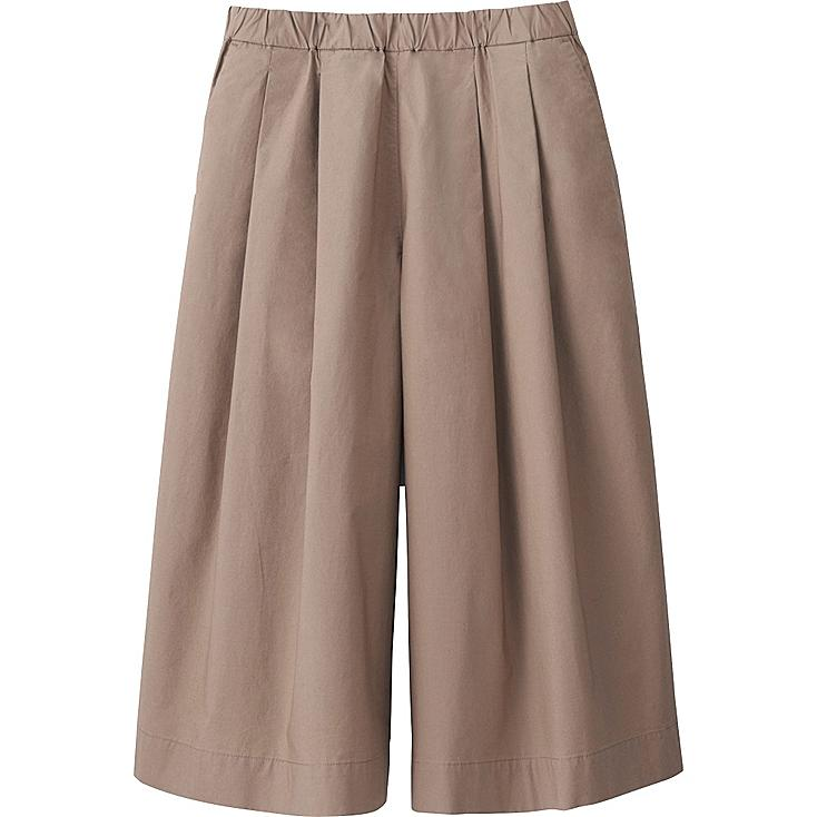 Women Cotton Gaucho Pants | UNIQLO US