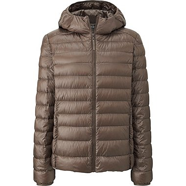 WOMEN ULTRA LIGHT DOWN PARKA, BEIGE, medium