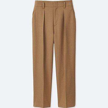 Pantalon Laine Mélangée FEMME