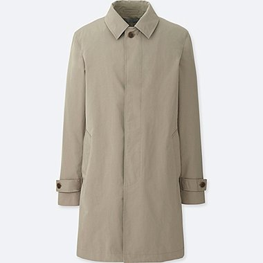 men convertible collar coat