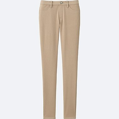 WOMEN LEGGINGS PANTS, BEIGE, medium