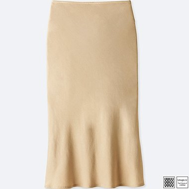 DAMEN UNIQLO U ROCK SATIN