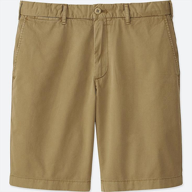 MEN CHINO SHORTS, BEIGE, large