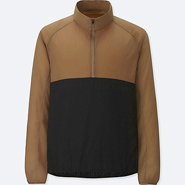 MEN Light Pocketable Half-Zip Blouson