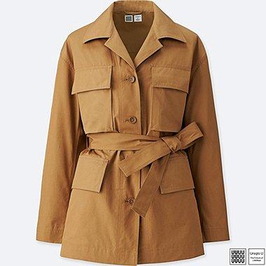 Damen U Safari Jacke