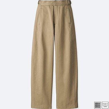 WOMEN UNIQLO U Wide Trousers