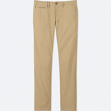 HERREN CHINO-HOSE (REGULAR FIT, L34)