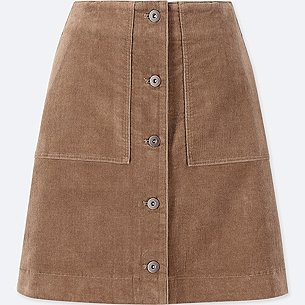 WOMEN CORDUROY FRONT BUTTON HIGH-WAIST MINI SKIRT/us/en/women-corduroy-front-button-high-waist-mini-skirt-409970.html