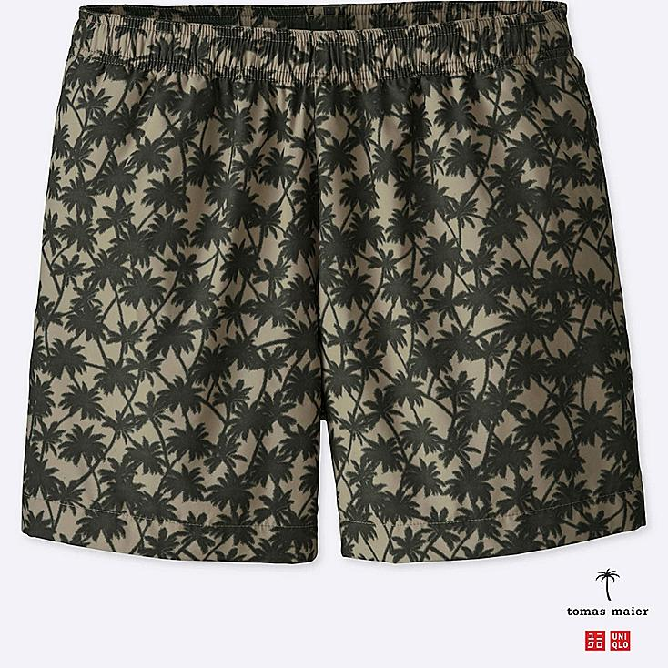 MEN PRINTED SWIM RELAXED SHORTS | Tuggl