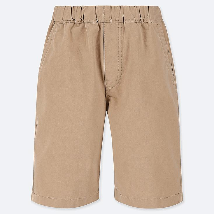 BOYS EASY SHORTS, BEIGE, large