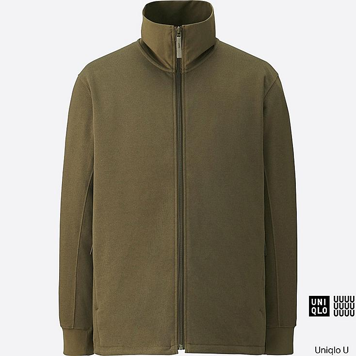 MEN Uniqlo U Dry Sweat Long Sleeve Full-Zip Jacket