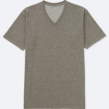 MEN V NECK SHORT SLEEVE T-SHIRT