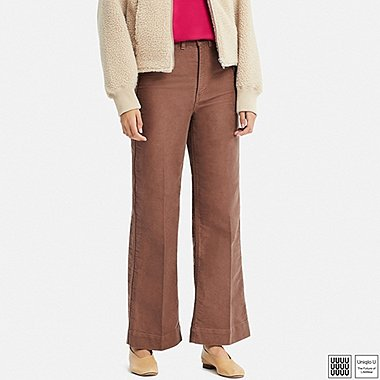 WOMEN UNIQLO U HIGH RISE WIDE JEANS