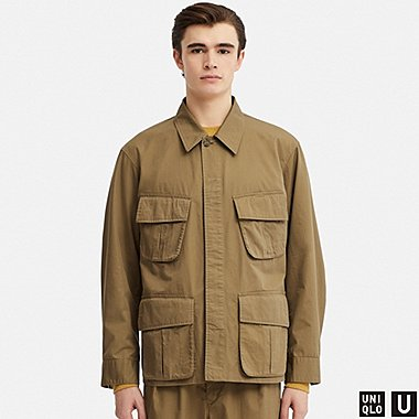 MEN U FATIGUE JACKET, KHAKI, medium