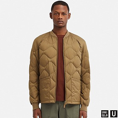 MEN UNIQLO U ULTRA LIGHT DOWN BLOUSON