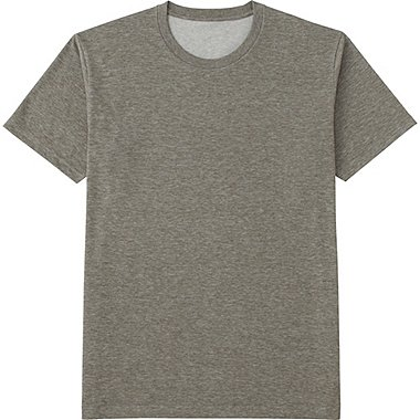 MEN Packaged Dry Crew Neck Short Sleeve T-Shirt