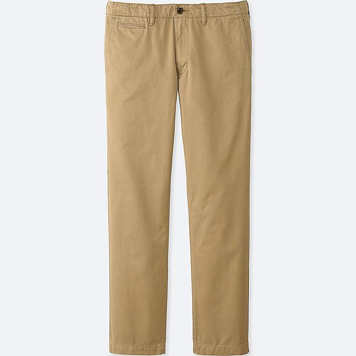 MEN Vintage Regular Fit Chino Flat Front Pants (L34)