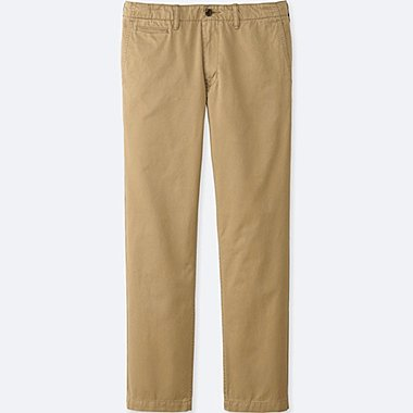 MEN Vintage Regular Fit Chino Flat Front Pants (34inch)