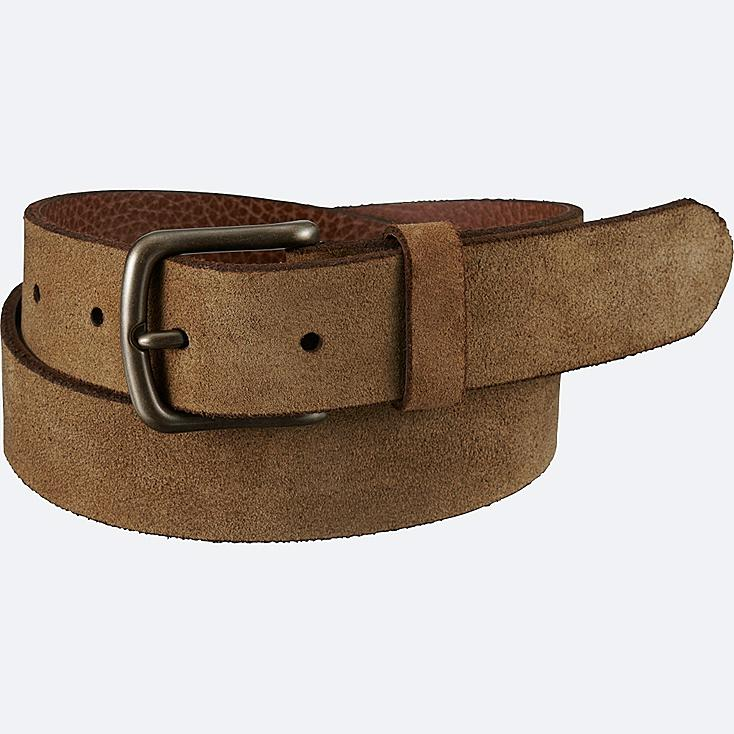 MEN Italian Leather Suede Belt