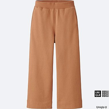 WOMEN Uniqlo U Light Sweat Wide Ankle Pants